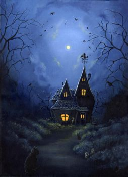 Witch house by karenspencer
