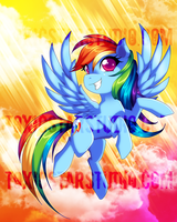 Big Adventure .:. Rainbow Dash by ToxicStarStudio