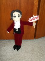 Edgeworth plush by Wildpurplechild