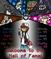 Black Nuzlocke: Hall of Fame by Kame-Ghost