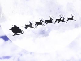 Santa is Comming by thebluecatz