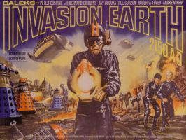 Daleks Invasion Earth 2150AD by FleetCommander
