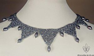 XVII-th century necklace N1099 by Fleur-de-Irk