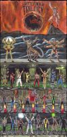 Mortal Kombat Trilogy poster by edithemad