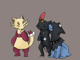 At: Team Crystal Claw by kwhitepearl