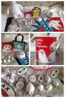 Baymax collection by Rosette82