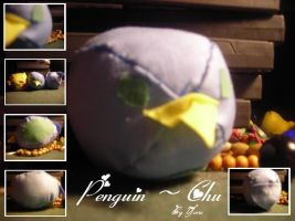 -Penguin Chu Plush- by kitty910