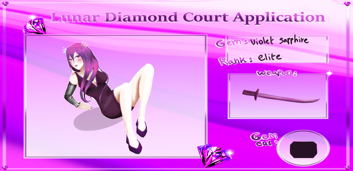 Lady Minako court application by Dewdrops-of-Crystal