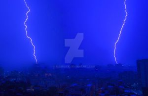 Thunder Lighting - Twin sparks by sidsclick
