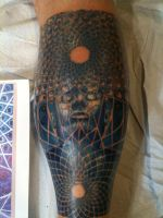 My Leg Session 4 by AndrewShoemaker