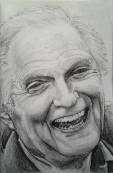 Older Alan Alda by DaftPencil