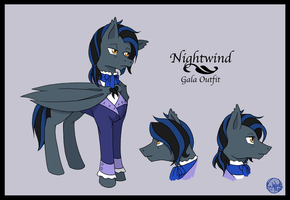 Nightwind - Gala Outfit by SubduedMoon