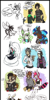 Livestream Requests 13 +OCs by KingNeroche