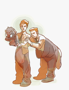 [bioshock infinite] heads or tails by deadums