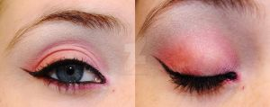 Pink And Red Make Up by TwiztedSoul
