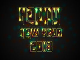 Happy New Year 2013 by Fuadya20