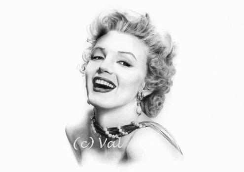 Marilyn by valentinabebec