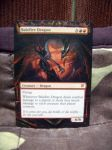 Altered MTG card: Balefire Dragon by idielastyr