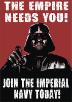 Vader Needs U 2 by HawkTheSlayer