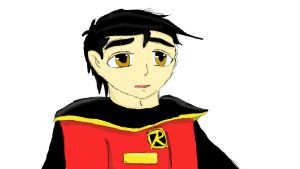 Robin (Boy Wonder) by Luxiethemerhog
