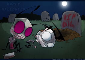 Happy Halloween by Invader--ZIM