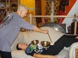 Sound Massage with Tibetan Bowls by Tigles1Artistry