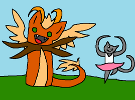 Random Japis and kitty by BlueEvelyn