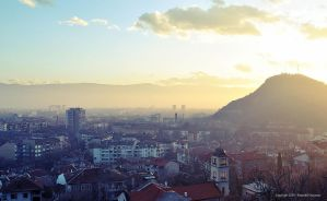 Plovdiv - Sunset 01 by momodesign