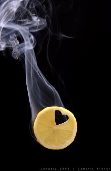 lemon smoke heart by dkraner