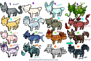 [CLOSED] Unnatural batch 2 by Roqe-Adopts
