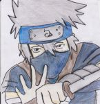 Kakashi Hatake Kid by An-ANIME-artist