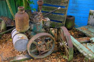 Stationary Engine - 1 by Mad-Murphy