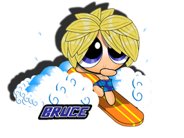 Bruce: The Little Surferboy by PowerpuffBaylee