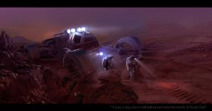 Tracking Rover 1 by browniedjhs