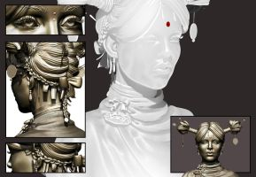 The Successor Zbrush Sculpt stone by smallsketch