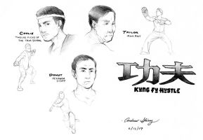 Kung Fu Hustle by silentsketcher