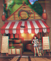 Stereoscopic: Anaglyph Tindahan by lires