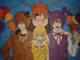 five nights at freddy's :) by Shifty-Last-Word