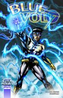 Commish : Blue Volt Mock by wansworld