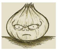 Onion From Hell by Giosuke