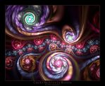 Candy Marbles In Motion by Wick5ter