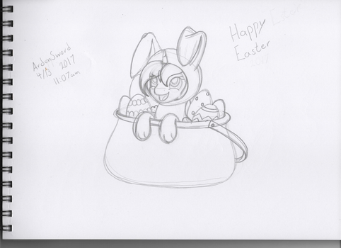 Happy Easter 2017 - Sketch by ArdonSword
