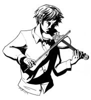 The Violinist by Noidatron