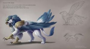 Armored Griffin by Sleepingfox