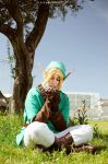 Link Cosplay: Ocarina of Time by FlamesOfOblivion