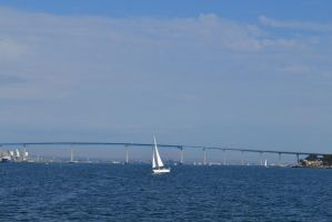 Coronado Bridge by saruwatari17
