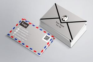 Envelope Business Card Template by banism24