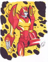 TF Rodimus Prime by AnimeJanice