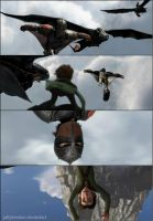 Hiccup and Hiccup by jellybreaker