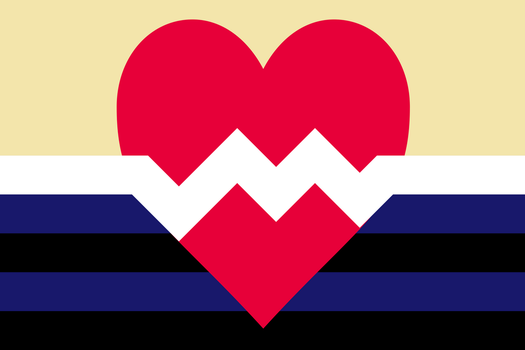 Flag for Kinky People in Vanilla Relationships by GospodinP